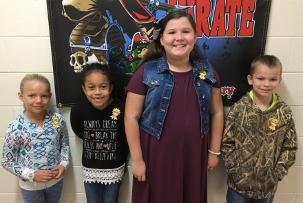 PUES Students of the week for Sept. 5-8
