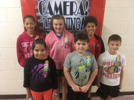 PUES Students of the Week for April 11-15
