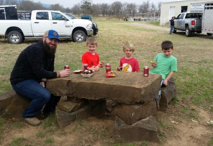 Photo of the Day: A day at the Wann Ranch