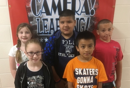 PUES Students of the Week for April 4-8