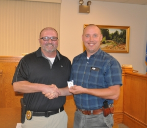 Williams receives 20-year Service Pin