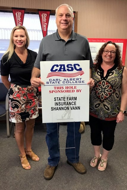 Shannon and Cheryl Vann Sponsor Hole at Upcoming Golf Scramble