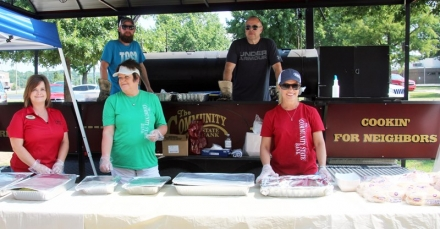 The Community State Bank Cookout for CASC Faculty and Staff