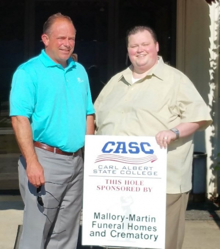 Mallory-Martin Funeral Homes and Crematory Sponsors Hole at Upcoming Golf Scramble