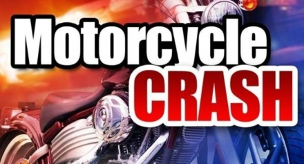 One injured in Motorcycle accident east of Sperry Oklahoma