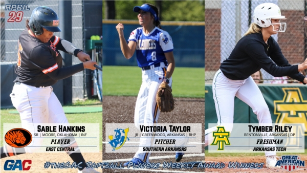 #theGAC SOFTBALL PLAYERS OF THE WEEK (APRIL 29)