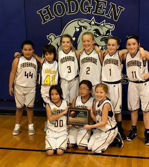 The Hodgen 3rd & 4th grade girls team