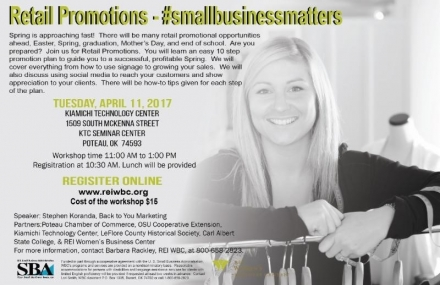Register Now for Small Business Matters