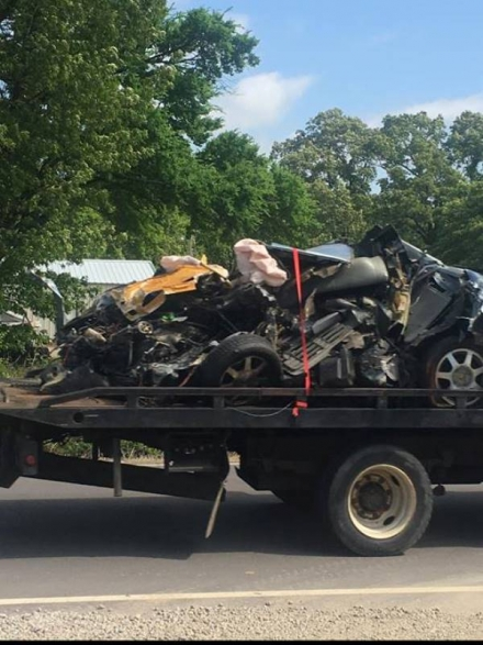 Double Fatality accident in LeFlore County
