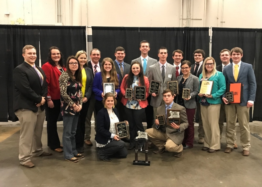 Eastern Judging Teams Place At 2018 Dixie National Livestock Show And Rodeo Oklahoma Welcome