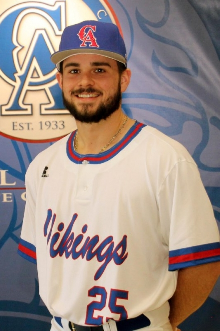 Carl Albert State College Baseball Player Will Klek Wins Gold Glove Award