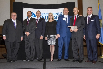 Central National Bank honored as Carl Albert State College's Business Partner