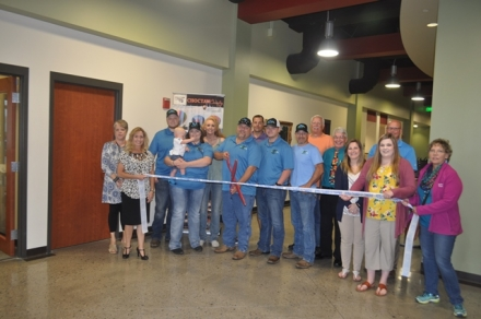 The Poteau Chamber of Commerce welcome BWC Roofing as new members