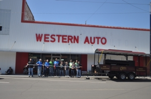 Western Auto Now Open