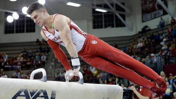 OU Men's Gymnastics: Sooner Storm Back to Complete Perfect ...