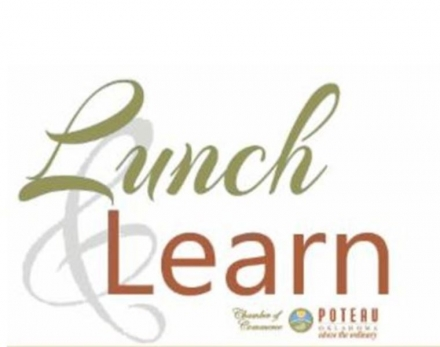 Poteau Chamber of Commerce  November Lunch & Learn Scheduled