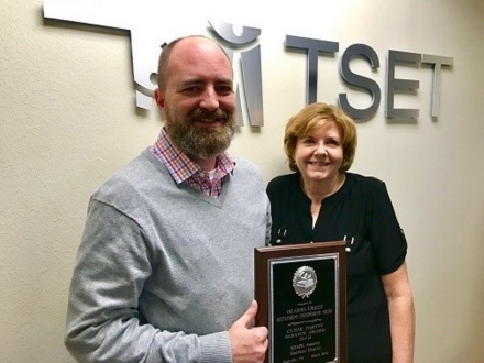 TSET gets national award for efforts to improve health