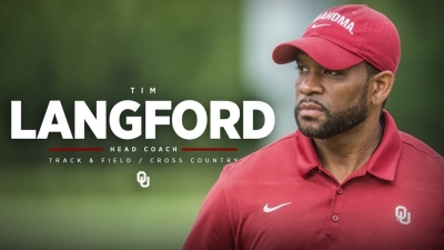 Langford Named Head Coach of OU's Track and Field and Cross Country Programs