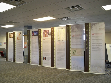 Cherokee Nation Exhibit Honoring Mothers on Display at CASC Sallisaw