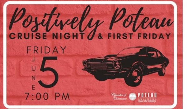Poteau Chamber, City of Poteau, Poteau Main Street and The Poteau Police Department Announce Great Event for First Friday In June