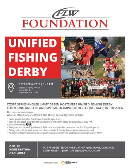 Free Fishing Derby at Fort Gibson