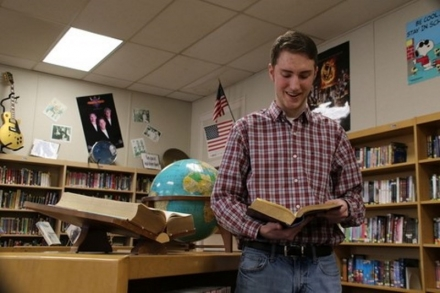 Ryne Garrison is Burns Flat-Dill City High School's first-ever National Merit Finalist.