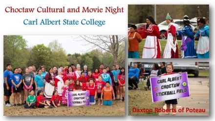 Choctaw Nation Success Center Cultural and Movie Night at CASC
