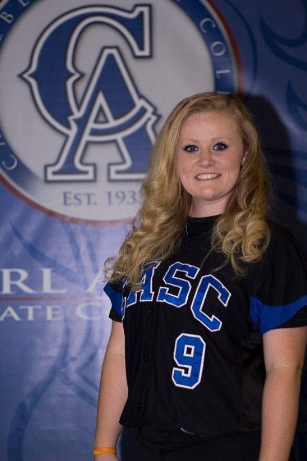 CASC's Katie McCullar Named NJCAA Softball Region II Division I Pitcher of the Week